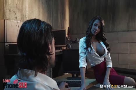 Скриншот для Фигуристая мамочка сексуально охает на члене №3135 3