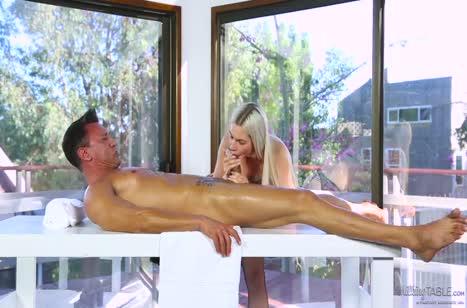 Скриншот для Пошлый секс с массажистом в разных позах на кушетке №2290 3