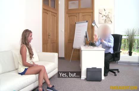 Скриншот для Телочка пришла на порно кастинг и круто потрахалась №760 1